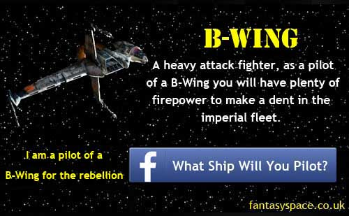 B-Wing Star Wars