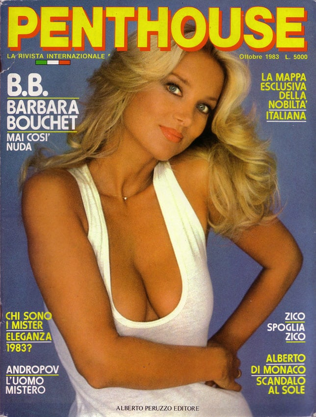 Barbara Bouchet - Actress
