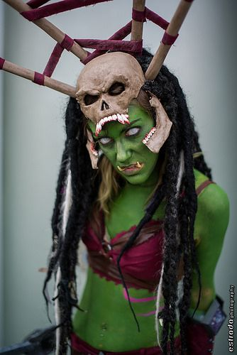 Female Goblin Cosplay