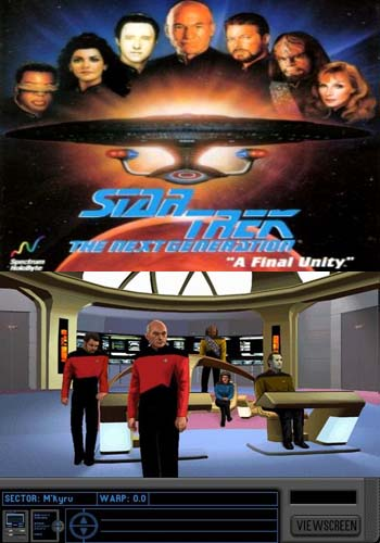 Star Trek the Next Generation A Final Unity 1995