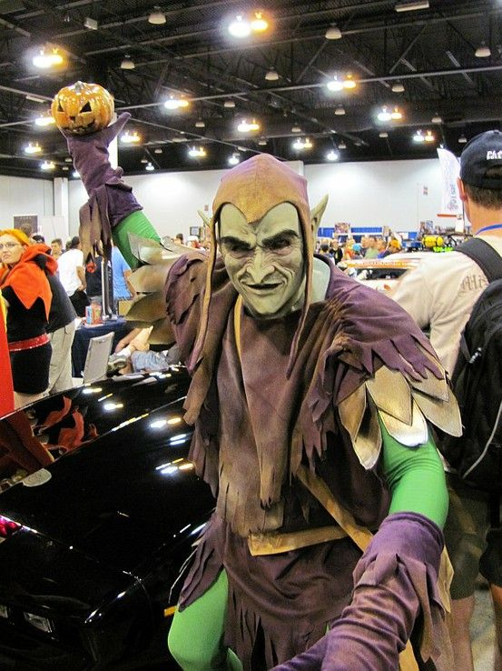 Green Goblin Cosplay