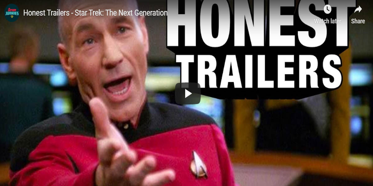Honest Trailers - Star Trek - The Next Generation