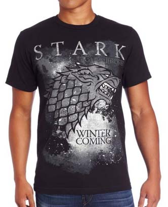 House Stark - Winter Is Coming T-Shirt