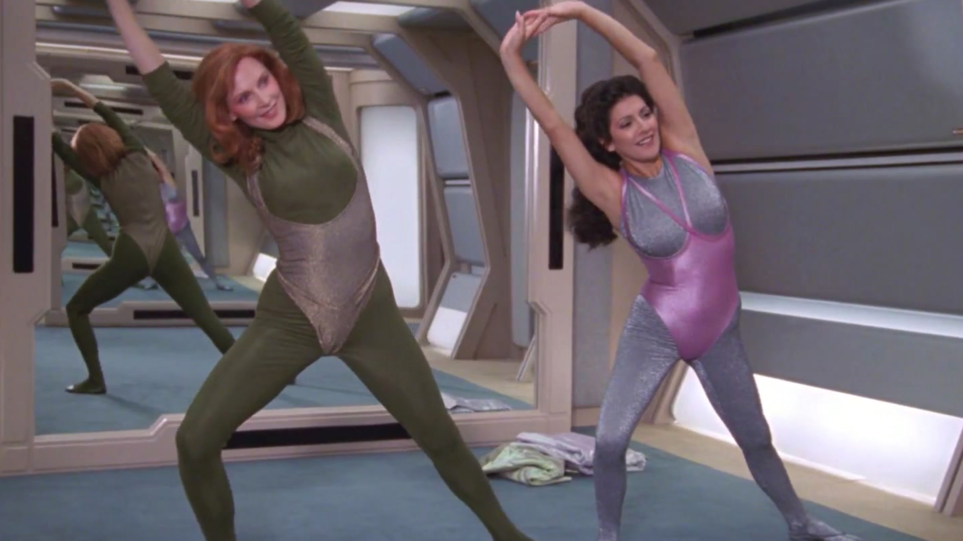 Marina Sirtis - Keep Fit