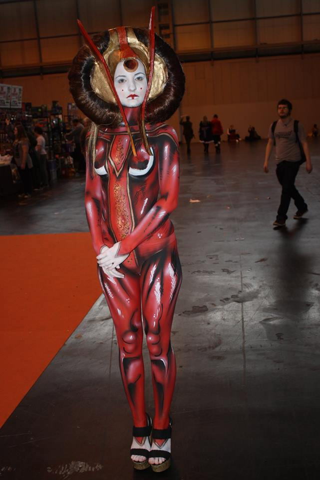 Padme Body Paint
