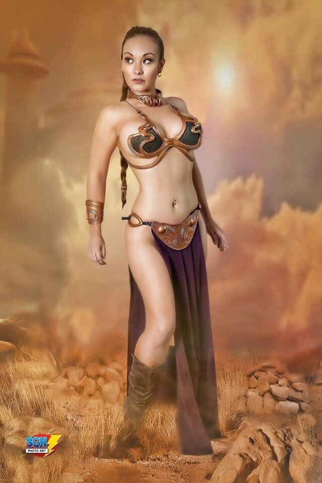 Slave Leia Cosplay by Ani-Mia