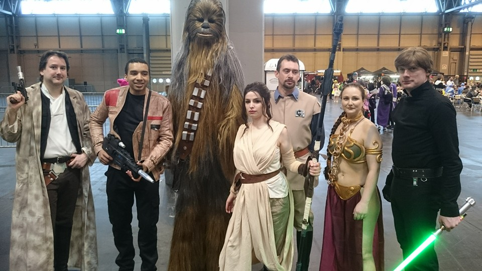 Star Wars Comic Con Birmingham