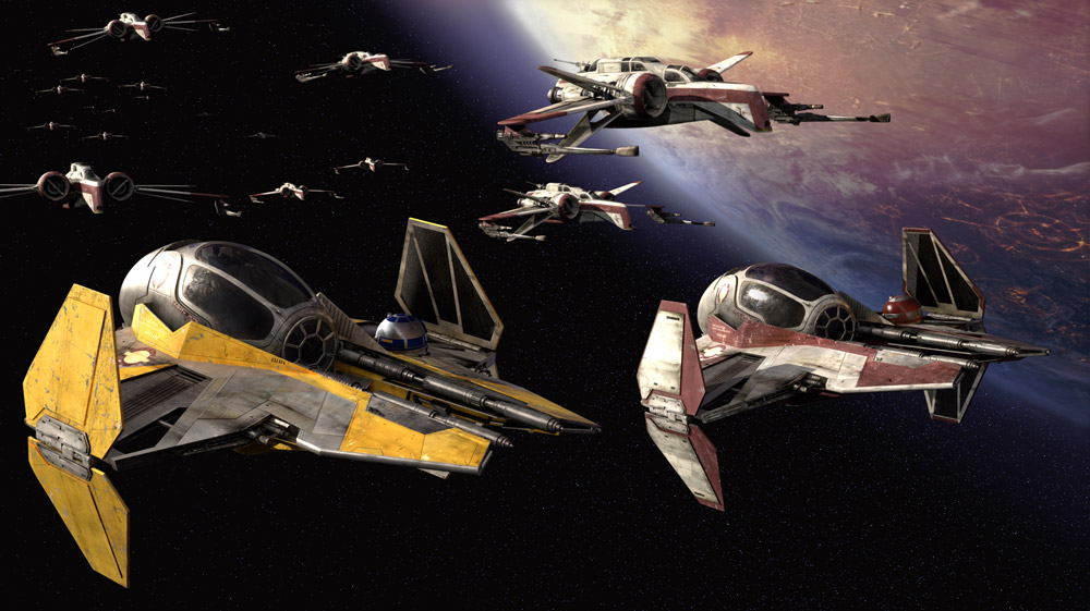 Star Wars Star Fighters
