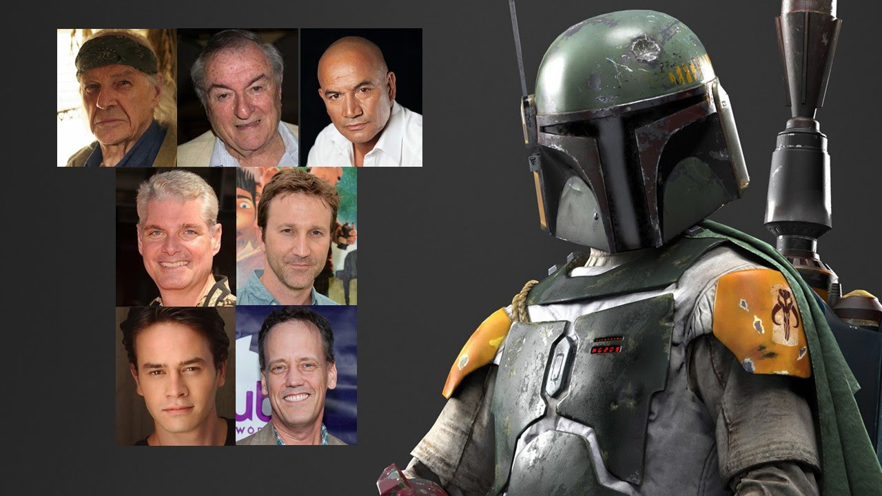 The Many Faces Of Boba Fett