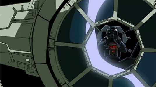 Tie Fighter Battle Video