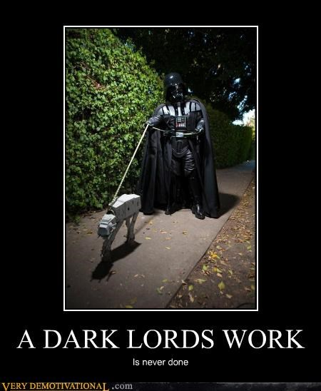 A Dark Lords work is never done