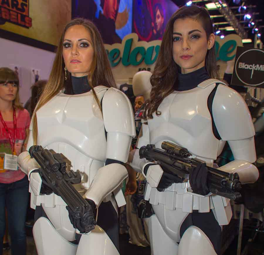 female trooper